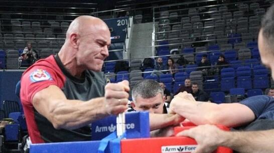 Калачеевец завоевал «серебро» в армрестлинге на Фестивале силовых видов спорта в Белгороде