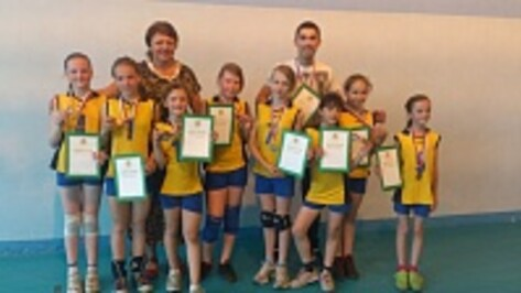 Лискинские волейболистки стали третьими на первенстве области
