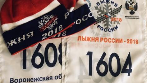 На «Лыжню России» в первый день регистрации записались более 2 тыс воронежцев
