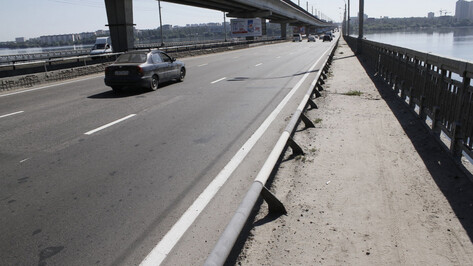 В Воронеже поочередно перекроют половины Северного моста
