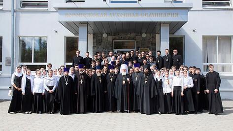 Митрополит освятил новый корпус Воронежской семинарии