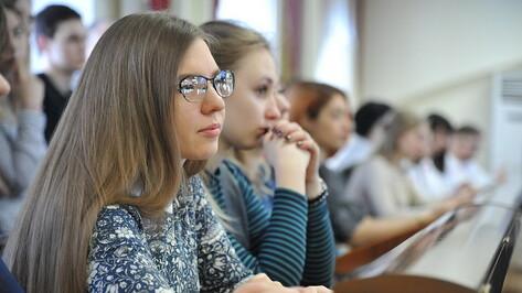 Первые лица региона поздравили воронежских студентов