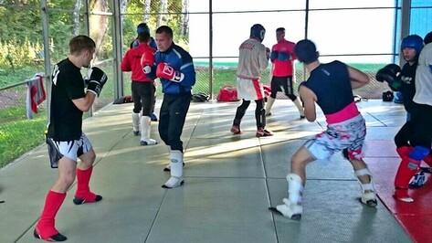 Семилукцы прошли обучение у тренера сборной России по смешанным единоборствам