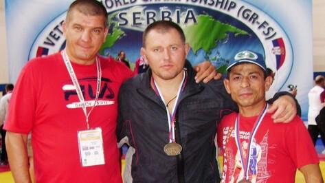 Аннинский борец завоевал бронзовую медаль на чемпионате мира в Cербии