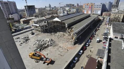Новое здание Центрального рынка вместе с двухуровневой парковой будет площадью 45 тысяч квадратных метров