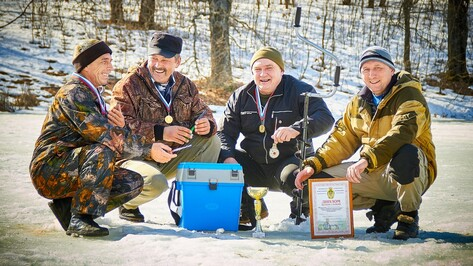 Аннинцы победили в областном чемпионате по рыболовному спорту