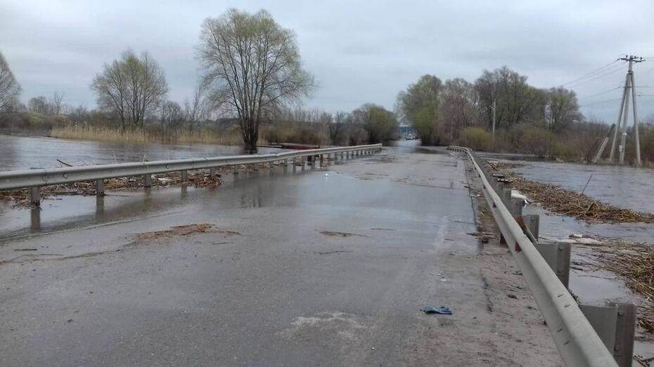 Движение по Ступинскому мосту под Воронежем возобновили