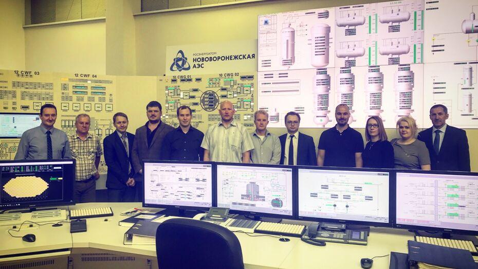 Финские специалисты познакомились с подготовкой персонала на Нововоронежской АЭС
