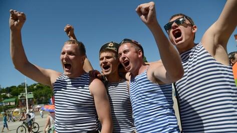 В День ВМФ по Воронежу пройдет шествие моряков