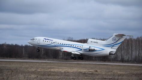 Воронеж открыл прямое авиасообщение с Ереваном