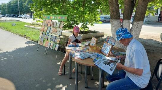 Читальный зал под открытым небом возобновил работу в Борисоглебске