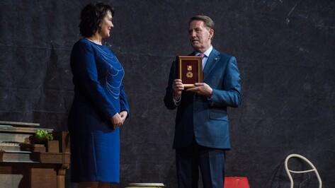 Дирекция Платоновфеста получила почетный знак «Благодарность от земли Воронежской»