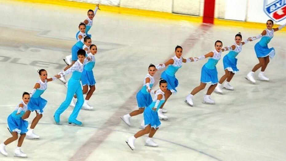 Воронежская команда по синхронному фигурному катанию выиграла соревнования в Губкине