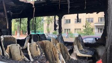 После пожара в автобусе в Воронеже проверят городской транспорт