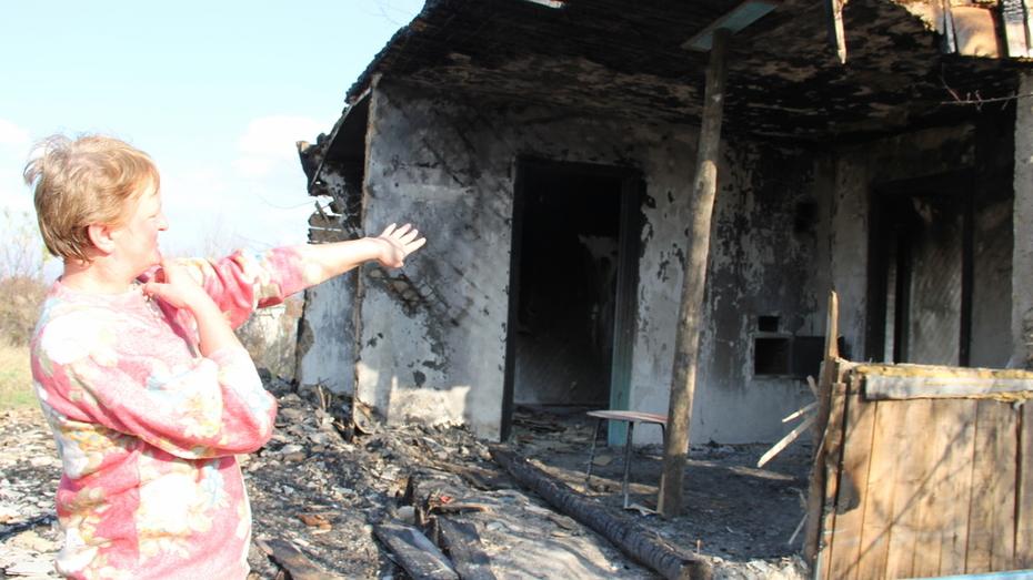 Семья погорельцев из петропавловского села Бычок попросила о помощи