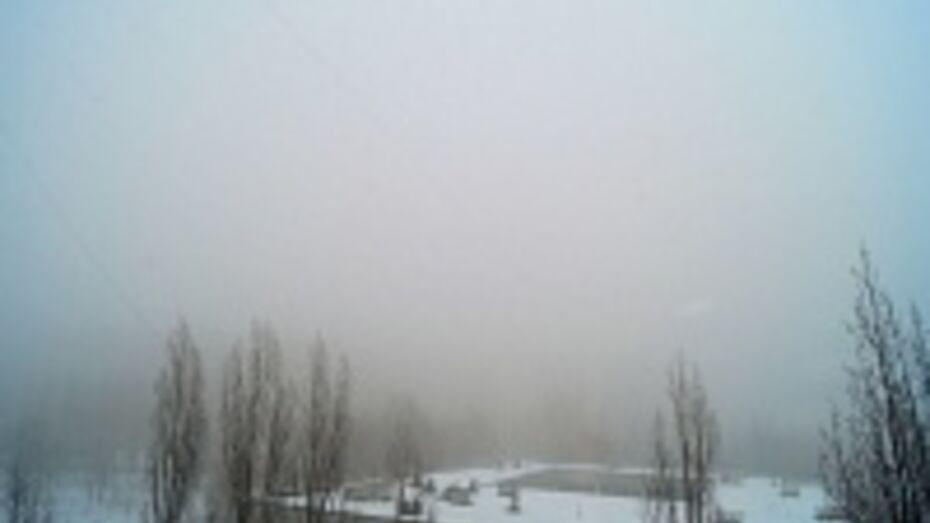 Воронежский аэропорт не работает из-за тумана