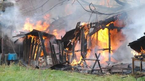 В Новохоперском районе 85-летняя пенсионерка из-за пожара едва не лишилась дома