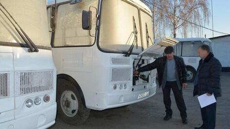В Нижнедевицк поступили новые автобусы
