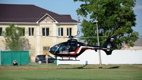Получившего удар током подростка перевезли вертолетом из Острогожска в Воронеж
