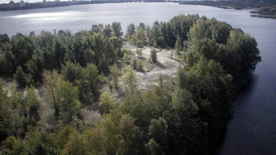 В Воронеже стартовал первый этап расчистки водохранилища