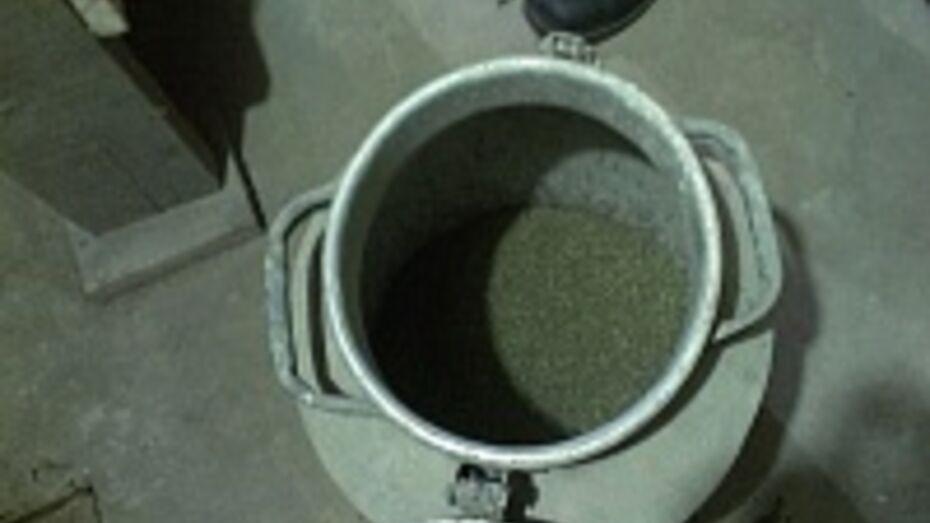В Воронеже задержан мужчина, хранивший марихуану в 40-литровой фляге