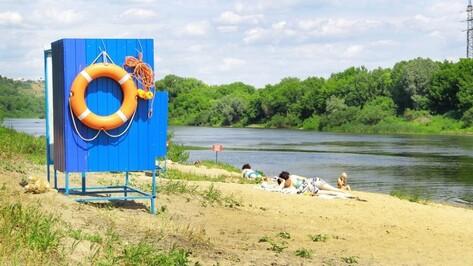 Власти утвердили список мест отдыха у воды в Воронеже на 2018 год