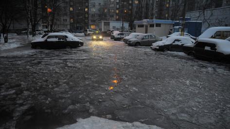 Воронежских водителей попросили быть внимательнее из-за возможного гололеда
