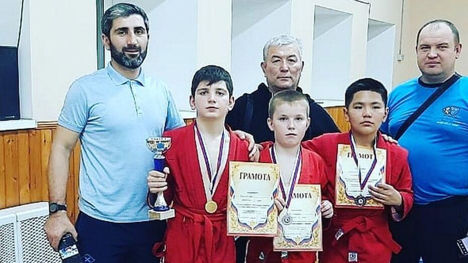 Таловский самбист завоевал «золото» на межрегиональном турнире в Можайске