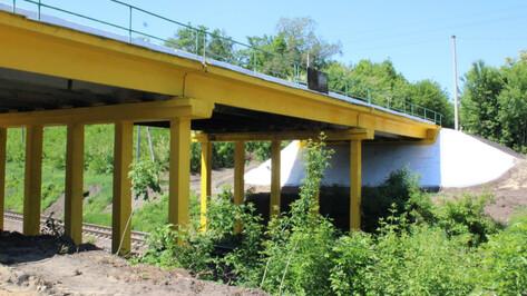 На воронежских трассах отремонтировали 9 мостов
