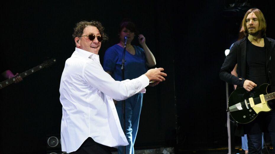 Певец Григорий Лепс на концерте в Воронеже «прошелся» по БГ и Сергею Шнурову