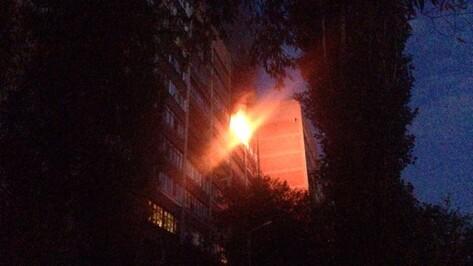 На пожаре в воронежской многоэтажке погиб 8-летний мальчик