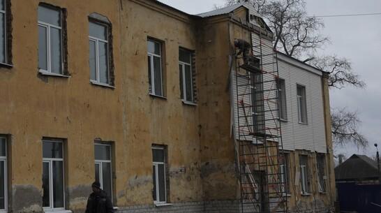 Хреновскую школу №1 в Бобровском районе капитально отремонтируют