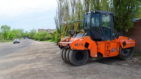 В Семилуках начали ремонт самой разбитой дороги