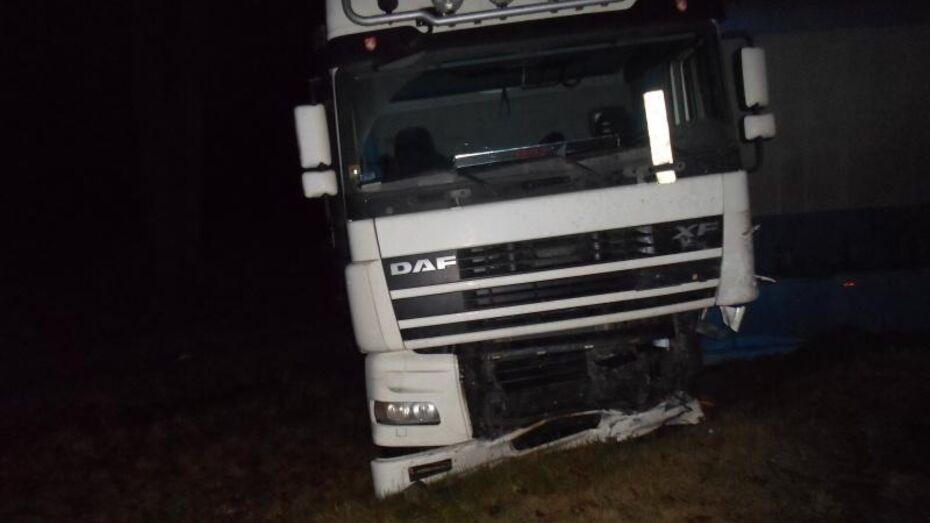 Воронежская полиция обвинила в автокатастрофе с «девяткой» и 2 фурами человеческий фактор