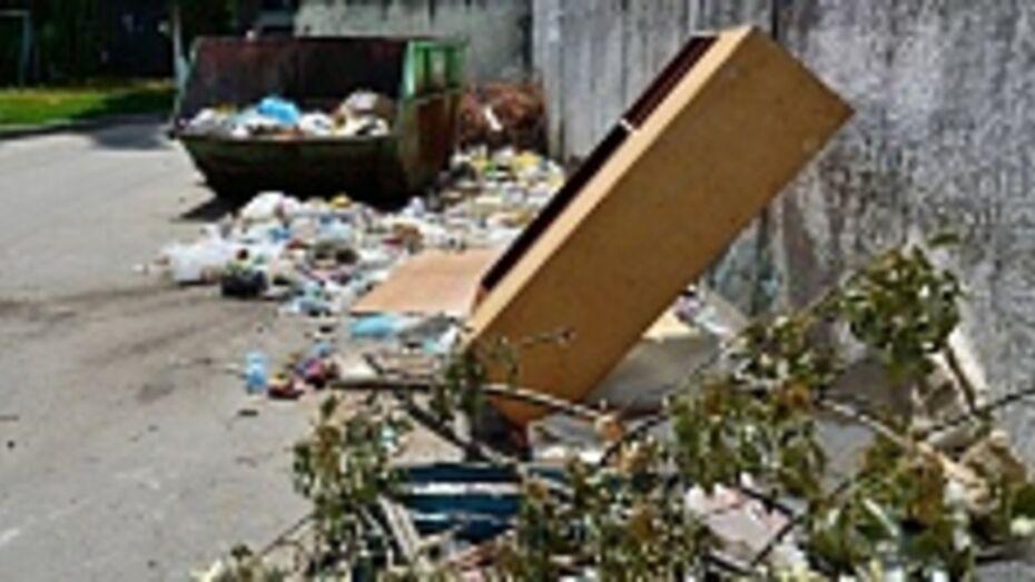 В Семилукском районе коммунальщики выставляли потребителям счета за невывезенный мусор