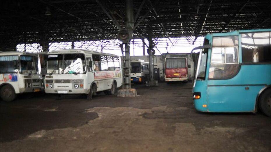 В Борисоглебске водители автобусов отказались работать из-за долгов по зарплате