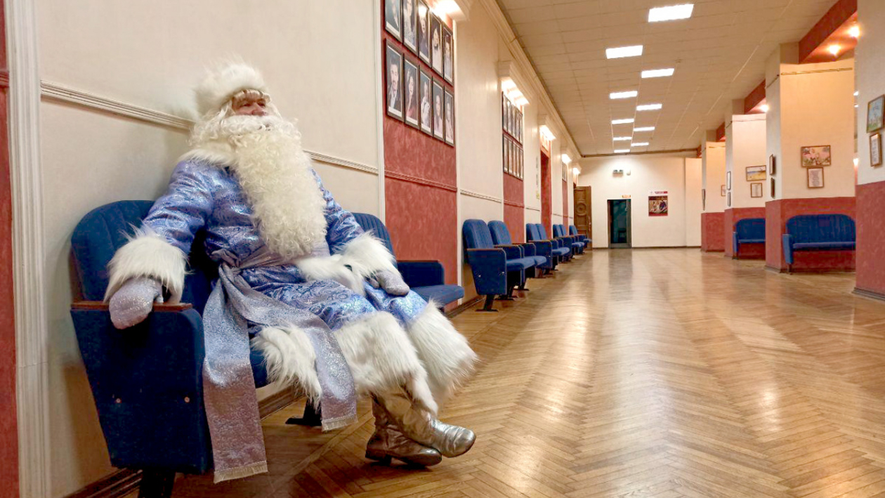 «Дед Мороз должен быть сильным». Актер Воронежского ТЮЗа – о главной роли своей жизни