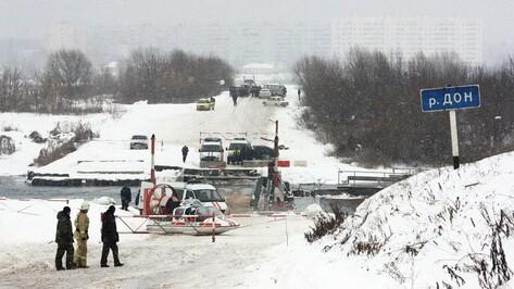 Дорожники опровергли сообщение о перекрытии понтонного моста в Воронеже
