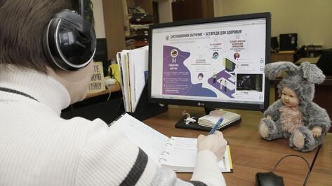 Воронежский департамент образования рассказал о дистанционных платформах для обучения