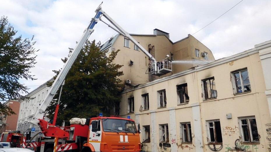 Мэрия Воронежа о пожаре в доме купца Клочкова: «Мы подозреваем поджог»