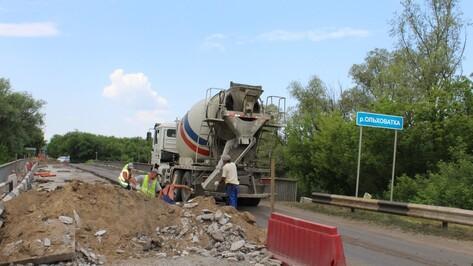 На ремонт моста в ольховатской слободе Новохарьковка потратят около 7 млн рублей