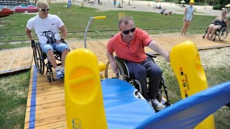 На воронежском пляже для инвалидов за лето отдохнули более 400 человек