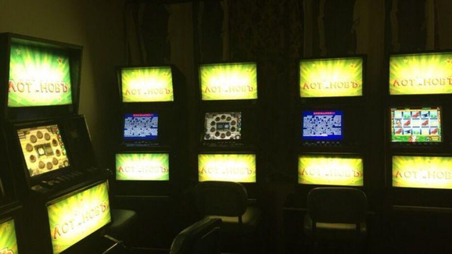 Два жителя Воронежской области открыли подпольное казино