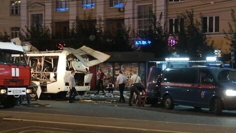 В Воронеже 1 пострадавшего при взрыве автобуса перевели из реанимации в отделение