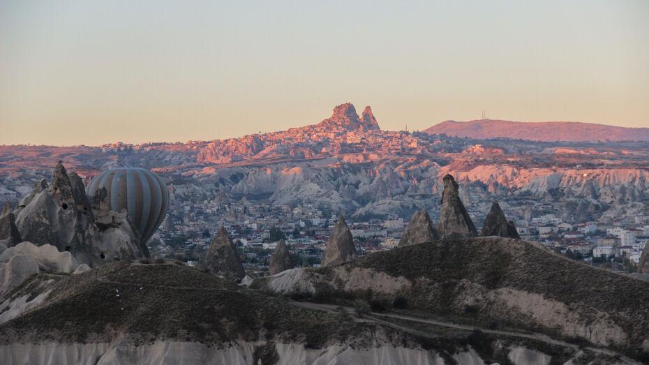 Страна каменных столбов и воздушных шаров. Turkish Airlines показали воронежцам Каппадокию