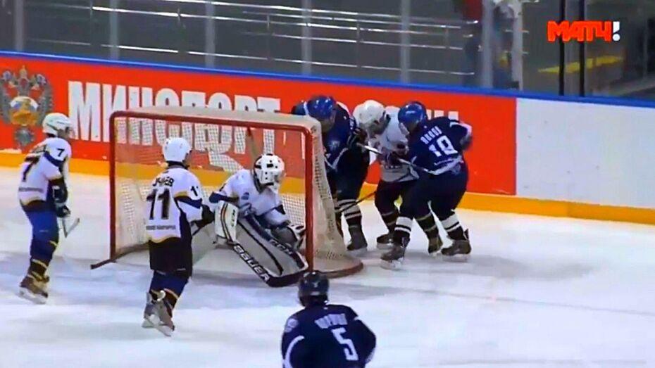 Воронежские хоккеисты победили во всероссийском турнире «Золотая шайба»