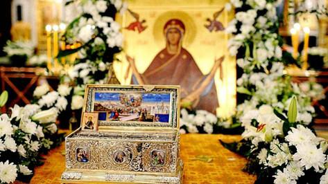 В Воронеж привезут ковчег с двухтысячелетней святыней христиан