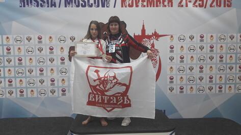 Верхнехавская каратистка стала бронзовым призером первенства мира
