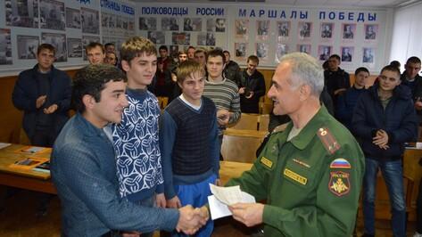 Эртильский район перевыполнил план осеннего призыва-2015