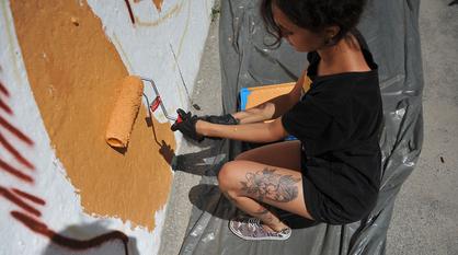 Воронежских мастеров стрит-арта пригласили украсить здание Росреестра